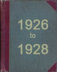 Minute Book 1926 to 1928